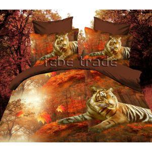 Pościel 3D - Cotton World - KSD-292 - 160x200 cm - 4 cz