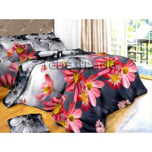 Pościel 3D - Cotton World - FS-306 - 220x200 cm - 3 cz