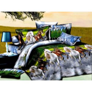 Pościel 3D - Cotton World - FS-310 - 220x200 cm - 4 cz