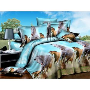 Pościel 3D - Cotton World - FS-602 - 220x200 cm - 3 cz