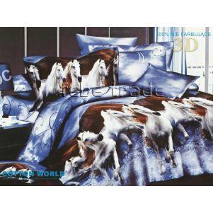 Pościel 3D - Cotton World - FSH-102 - 220x200 cm - 3 cz