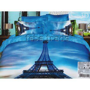 Pościel 3D - Cotton World - FSH-113 - 220x200 cm - 3 cz