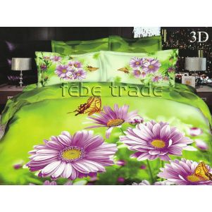 Pościel 3D - Cotton World - FSH-113 - 180x200 cm - 4 cz