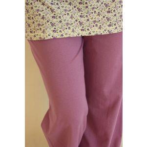 Piżama damska FEBE - SNC - PDT288 - drobny kwiatek - serek