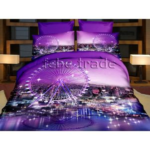Pościel 3D - Cotton World - FSH-165 - 220x200 cm - 3 cz