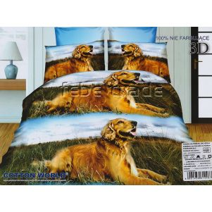 Pościel 3D - Cotton World - FSH-205 - 220x200 cm - 3 cz