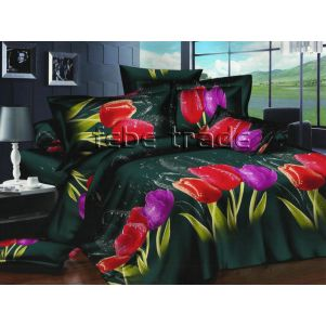 Pościel 3D - Cotton World - FSC-230 - 180x200 cm - 4 cz