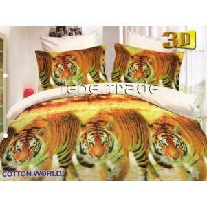 Pościel 3D - Cotton World - FSH-362 - 220x200 cm - 3 cz