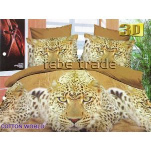 Pościel 3D - Cotton World - FSH-362 - 220x200 cm - 4 cz