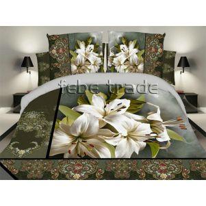 Pościel 3D - Cotton World - FSH-398 - 220x200 cm - 3 cz