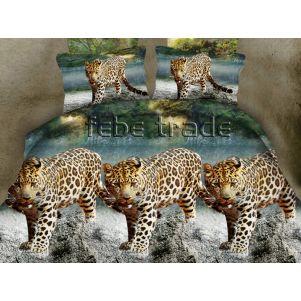 Pościel 3D - Cotton World - FSH-502 - 220x200 cm - 3 cz