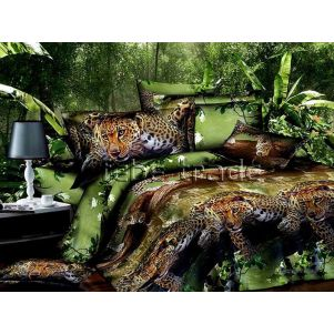 Pościel 3D - Cotton World - FSH-511 - 220x200 cm - 3 cz