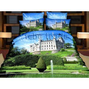 Pościel 3D - Cotton World - FSH-513 - 220x200 cm - 3 cz