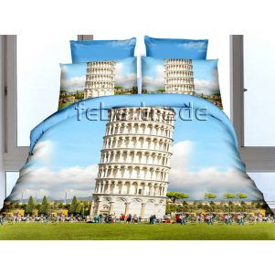 Pościel 3D - Cotton World - FSH-513 - 220x200 cm - 4 cz