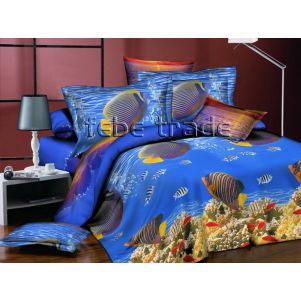 Pościel 3D - Cotton World - FSH-518 - 220x200 cm - 4 cz