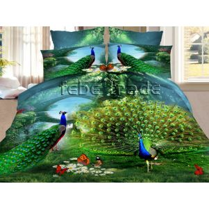 Pościel 3D - Cotton World - FSH-518 - 220x200 cm - 3 cz
