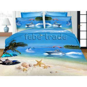 Pościel 3D - Cotton World - FSC-276 - 160x200 cm - 3 cz