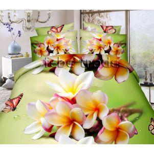 Pościel 3D - Cotton World - FSC-1507 - 220x200 cm - 4 cz