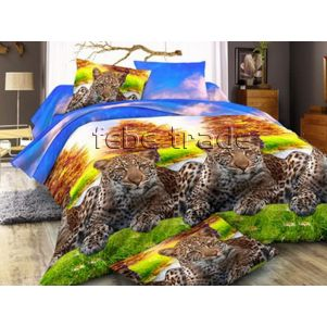 Pościel 3D - Cotton World - FSC-1504 - 220x200 cm - 4 cz