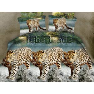 Pościel 3D - Cotton World - FSP-149 - 220x200 cm - 3 cz