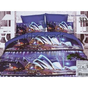 Pościel 3D - Cotton World - FSP-156 - 160x200 cm - 4 cz
