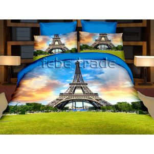 Pościel 3D - Cotton World - FSP-166 - 220x200 cm - 4 cz