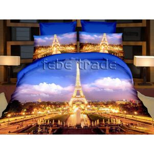 Pościel 3D - Cotton World - FSP-166 - 160x200 cm - 4 cz