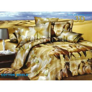 Pościel 3D - Cotton World - FSP-171 - 220x200 cm - 4 cz