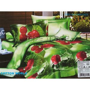 Pościel 3D - Cotton World - FSP-200 - 220x200 cm - 4 cz