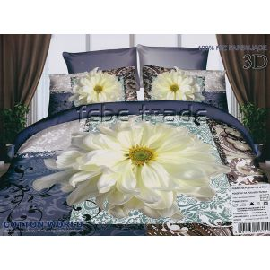 Pościel 3D - Cotton World - FSP-227 - 220x200 cm - 4 cz