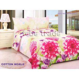 Pościel 3D - Cotton World - FSP-355 - 220x200 cm - 4 cz