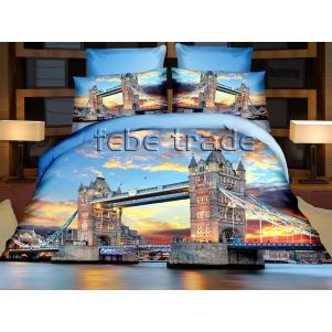 Pościel 3D - Cotton World - FSP-716 - 220x200 cm - 4 cz