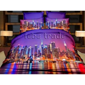 Pościel 3D - Cotton World - FSP-717 - 220x200 cm - 4 cz