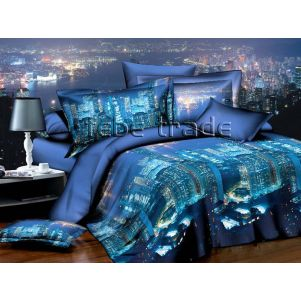 Pościel 3D - Cotton World - FSP-723 - 220x200 cm - 4 cz