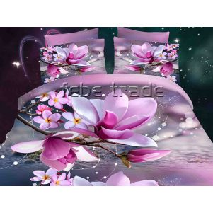 Pościel 3D - Cotton World - FSP-725 - 220x200 cm - 4 cz