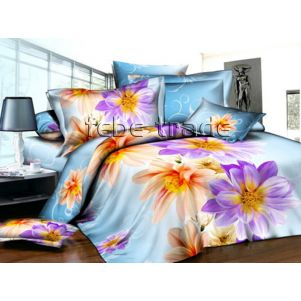 Pościel 3D - Cotton World - FSP-728 - 220x200 cm - 4 cz