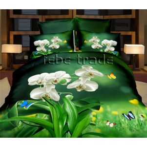 Pościel 3D - Cotton World - FSP-732 - 180x200 cm - 4 cz