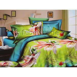 Pościel 3D - Cotton World - FSP-738 - 220x200 cm - 4 cz