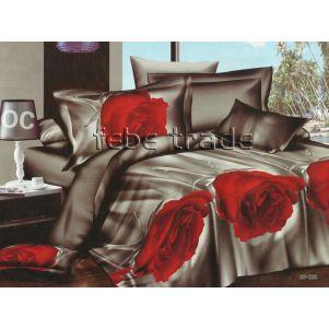 Pościel 3D - Cotton World - FSB-211 - 220x200 cm - 4 cz
