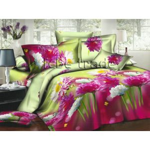 Pościel 3D - Cotton World - FSB-216 - 220x200 cm - 4 cz