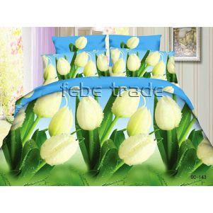 Pościel 3D - Cotton World - FSB-220 - 220x200 cm - 4 cz