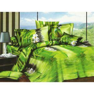 Pościel 3D - Cotton World - FSB-225 - 220x200 cm - 4 cz