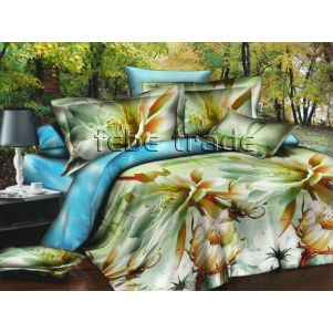 Pościel 3D - Cotton World - FSB-225 - 180x200 cm - 4 cz