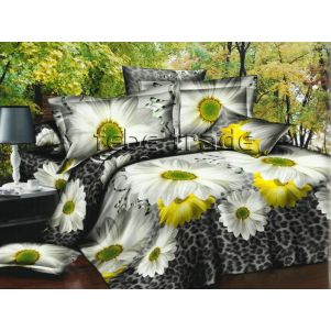 Pościel 3D - Cotton World - FSB-225 - 160x200 cm - 4 cz
