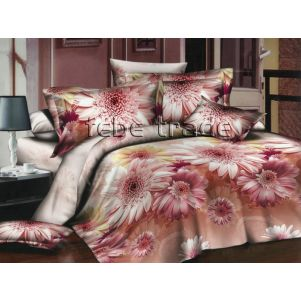 Pościel 3D - Cotton World - FSB-225 - 160x200 cm - 3 cz