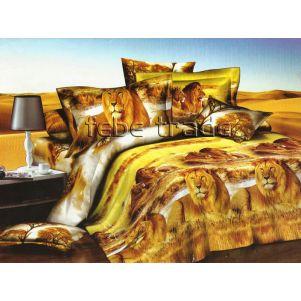 Pościel 3D - Cotton World - FSB-226 - 220x200 cm - 4 cz
