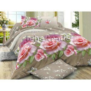 Pościel 3D - Cotton World - FSB-228 - 220x200 cm - 4 cz