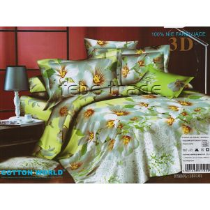 Pościel 3D - Cotton World - FSB-229 - 160x200 cm - 4 cz