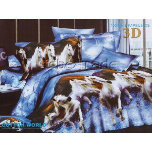 Pościel 3D - Cotton World - FSB-234 - 180x200 cm - 4 cz