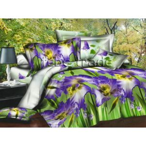 Pościel 3D - Cotton World - FSB-304 - 220x200 cm - 4 cz